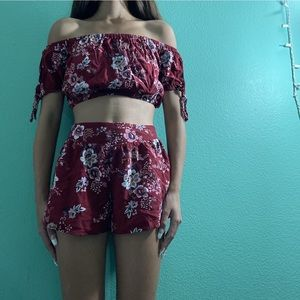 Two Piece cute comfortable set
